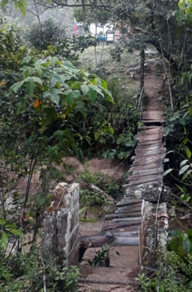 Bridge Tolima Colombia 2020